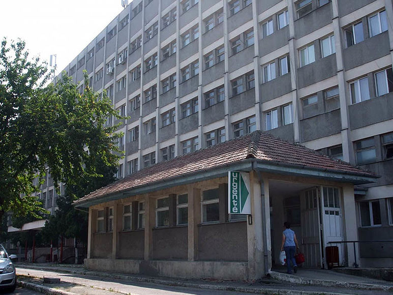 Bezirkskrankenhaus in Moldova Noua
