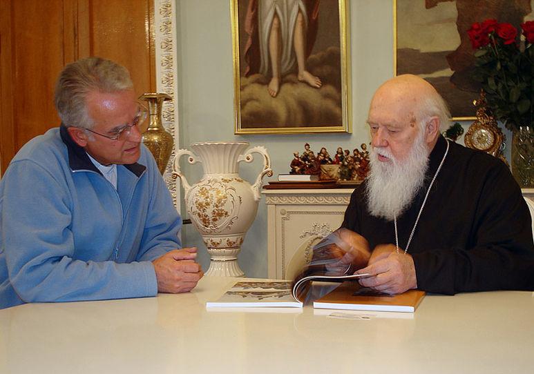 Zusammenkunft mit dem Patriarchen Filaret