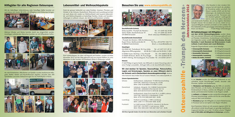 Abbildung des Jahresberichts 2012