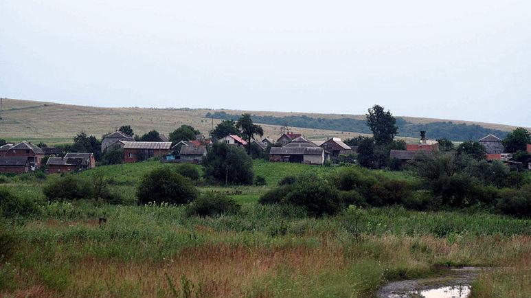 Ein Dorf irgendwo zwischen Lviv (Lemberg) und Czernowitz
