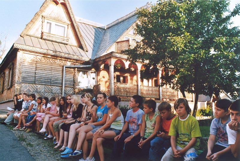 Jugendgruppe in Novoje