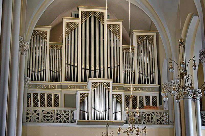 Orgel in der Kathedrale von Moskau