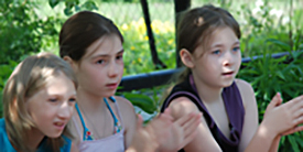 Kinder des Jugendzentrums Jaropolzy