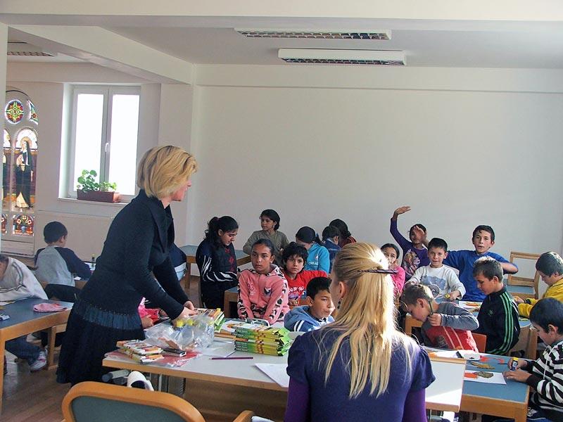 Kinder in der Kindertagestätte