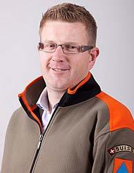 Peter Haag, Kommandant der Zivilschutzorganisation UZE
